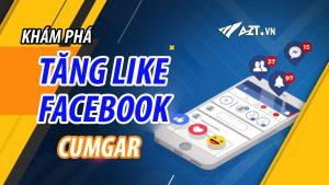 tăng like bài viết facebook tại cumgar
